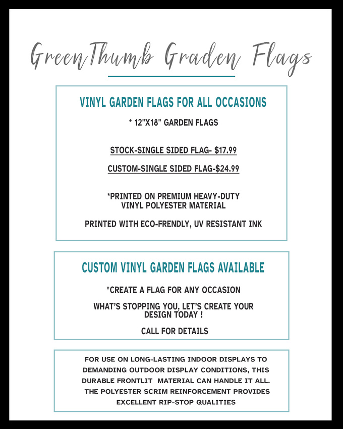 Web Page -Green thumb garden flags