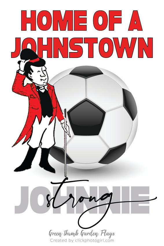 Johnstown Johnnie (Soccer) Garden Flag