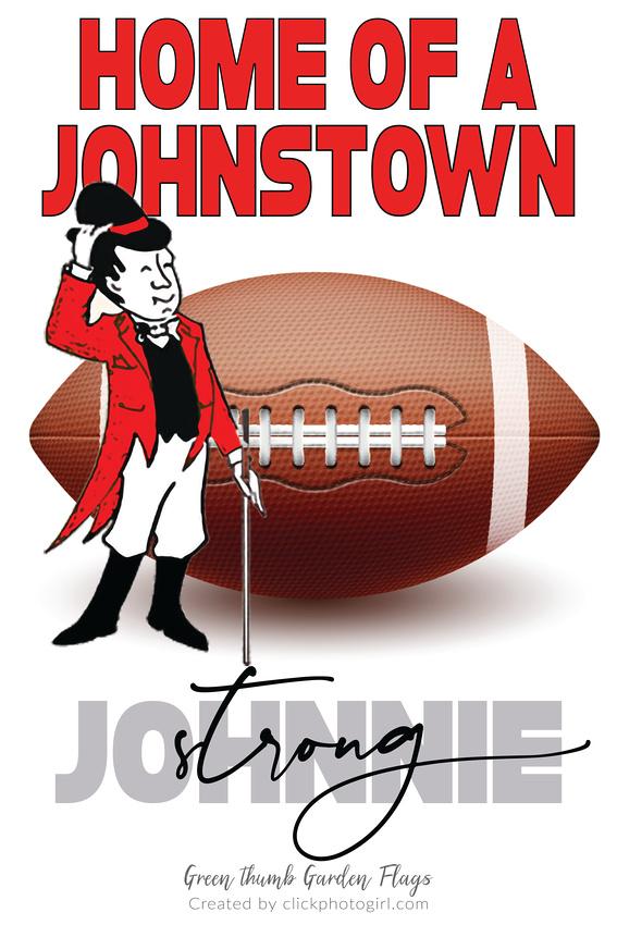 Johnstown Johnnie (Football) Garden Flag