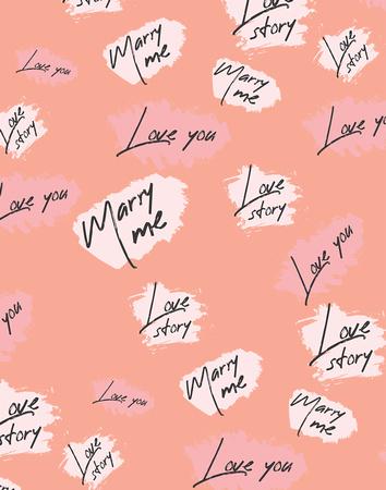 Marry Me Print pattern copy